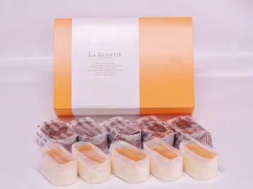 半熟チーズ5個&蒸焼きショコラ5個入りギフトBOX