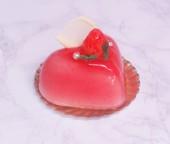 苺とヨーグルトのムース